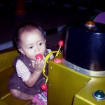 MiRah PLay on the BOAT