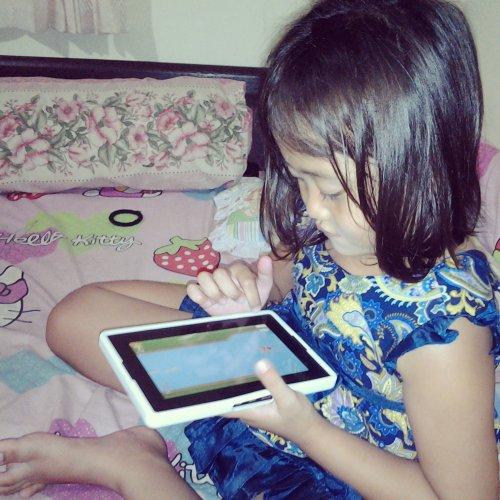 MiRah GayatriDewi Blackberry playbook